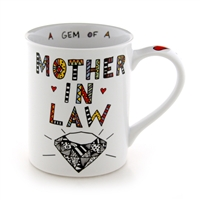 'Mother In Law' 16-ounce Coffee Mug from Our Name Is Mud