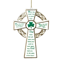 Kurt Adler - Porcelain Irish Cross Ornament
