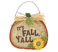 Pumpkin Wall Hanging - It's Fall Y'all