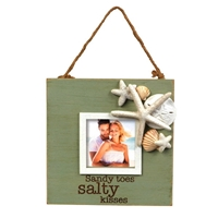 Sandy Toes Salty Kisses Coastal Photo Frame