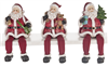 Santa Shelf Sitters - Set of 3