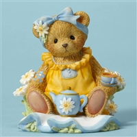 Cherished Teddies - Sitting Down Having Tea