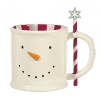 Grasslands Road - Snowman Mug with Stirrer