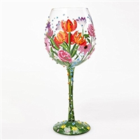 Spring Blinge - Super Bling - Wine Glass