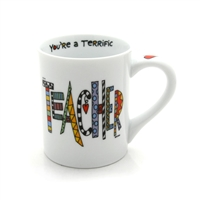 'Teacher' 16-ounce Coffee Mug from Our Name Is Mud