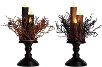 Triple Halloween LED Candle