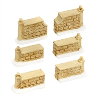Tudor Garden Walls Set