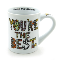 'You're The Best' 16-ounce Coffee Mug from Our Name Is Mud