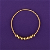Empowerment Cubit (EC) 1/2 Light-Life Ring, copper, 24K gold plated, 7 beads