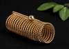 Sacred Cubit Light-Life New Dimension Acu-Vac Coil, 24K Gold Plated, Wire Outside
