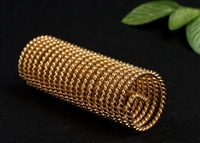 Sacred Cubit Light-Life New Dimension Acu-Vac Coil, 24K Gold Plated, Wire Inside