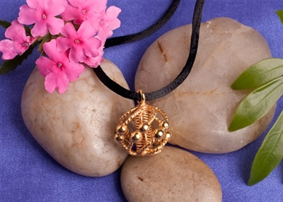 Sacred Cubit Light-Life Personal Harmonizer, copper, 24K gold plated