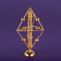 Pyramid Unit, Light-Life(R), copper, 24K gold plated