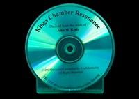 King's Chamber Resonance CD