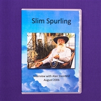 Slim Spurling Interview with Alan Steinfeld DVD, english and german