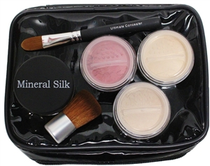 Mineral Cosmetics and Brush Set