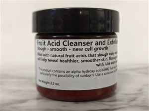 Fruit Acid Exfoliating Cleanser