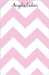 Pink Chevron Notepad