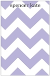 Purple Chevron Notepad