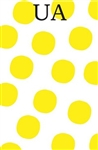 Yellow Large Dot Notepad