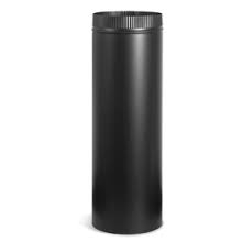 Black pipe double wall 6 inch diameter