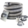 Smooth and Double wall 20 foot Chimney Liner kit