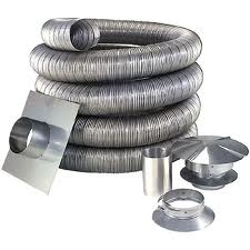 Chimney Liner Kit 25 foot 6 inch diameter DOUBLE WALL SMOOTH