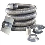 Chimney Liner Kit 25 foot 5.5 inch round