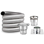 5.5 Inch Round, Chimney Liner Kit, DOUBLE PLY SMOOTH