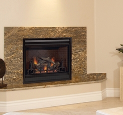 FMI Products Direct Vent Gas Fireplace Chateau