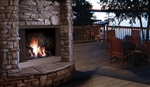Kingsman Outdoor Zero Clearance Fireplace OFP42 42""