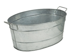 Minuteman Galvanized Steel Oval Tub