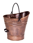 Minuteman Copper Coal Hod/Pellet Bucket