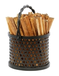 Minuteman Twisted Rope Fatwood Caddy