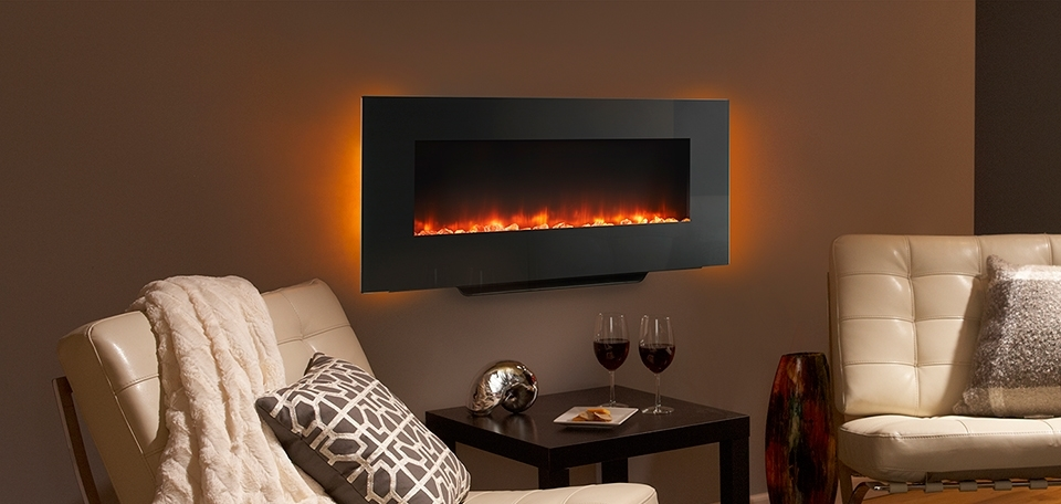 Monessen Simplifire Wall Mount Electric Fireplace