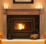Pearl Mantels Alamo Fireplace Mantel Surround