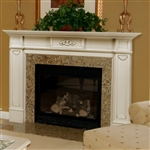 Pearl Mantels Monticello Fireplace Mantel Surround