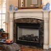 Pearl Mantels Princeton Fireplace Mantel Surround