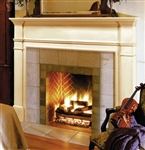 Pearl Mantels Windsor Fireplace Mantel Surround