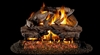 Peterson Real Fyre Vented Gas Log Set Charred Cedar