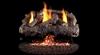 Peterson Real Fyre Vent Free Gas Log Set Charred Frontier Oak