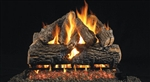 Peterson Real Fyre Vented Gas Log Set Charred Oak