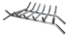 "Uniflame 27"" 6-Bar Stainless Steel Bar Log Grate"