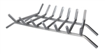 "Uniflame 30"" 7-Bar Stainless Steel Bar Log Grate"