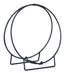Uniflame Black 24/36 Inch Diameter Log Hoop