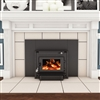 Vogelzang Plate Steel Wood Fireplace Insert Colonial
