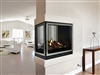 White Mountain Hearth DV Clean Face Fireplace Tahoe Multi-Sided (See-Through and Peninsula)