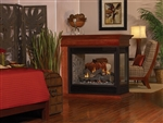 White Mountain Hearth DV Fireplace Tahoe See-Through and Peninsula