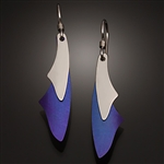 Sterling Silver and Niobium Earrings (101.sn)