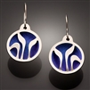 Sterling Silver and Niobium Earrings (110.sn)